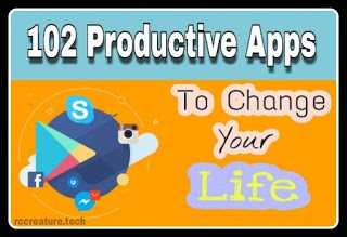 [UPDATED] 102 Productive Apps to Change Your Life (2019)