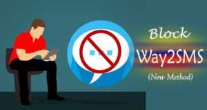 How Can I block messages received from Way2SMS ?(2019)