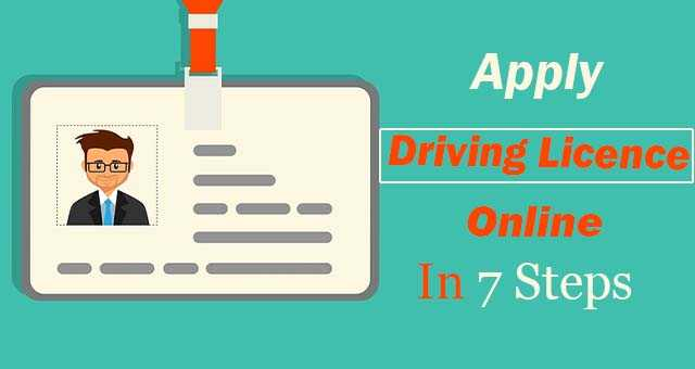 Apply Driving Licence Online In 7 Steps (2020)