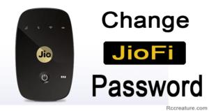 How to Change JioFi Password - 6 Steps To Change Jiofi Password (2019)